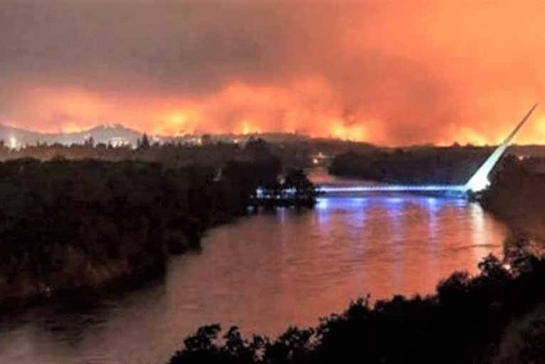 Carr Fire Continues To Rage Update Saturday 7 28 18 Wild