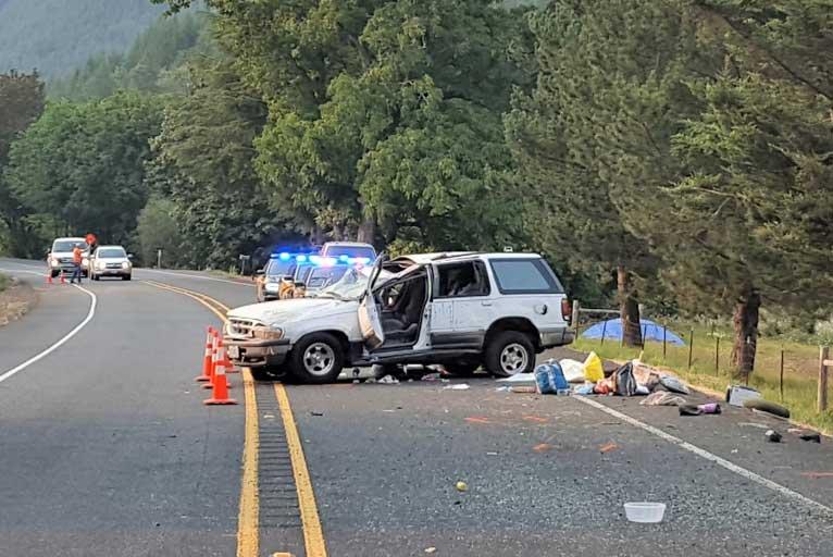 Hwy  38 Crash Takes a Life - Wild Coast Compass