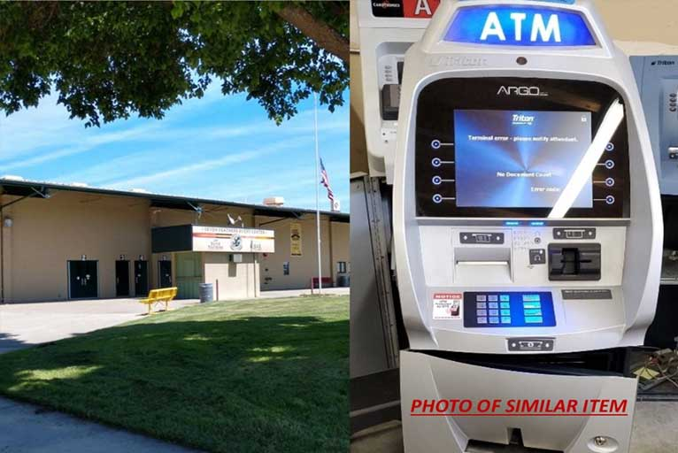 ATM Stolen from Seven Feathers Event Center - Wild Coast Compass